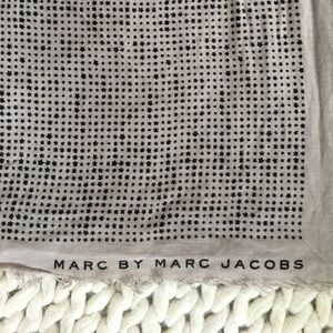 """48""""x48"""" Marc by Marc Jacobs scarf"""